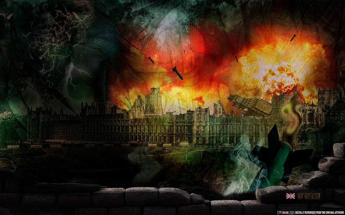 WORLD WAR III: LONDON, ENGLAND (4of4) by CSuk-1T