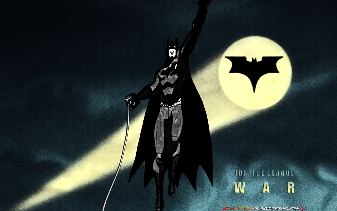 JUSTICE LEAGUE: WAR: BATMAN by CSuk-1T on DeviantArt