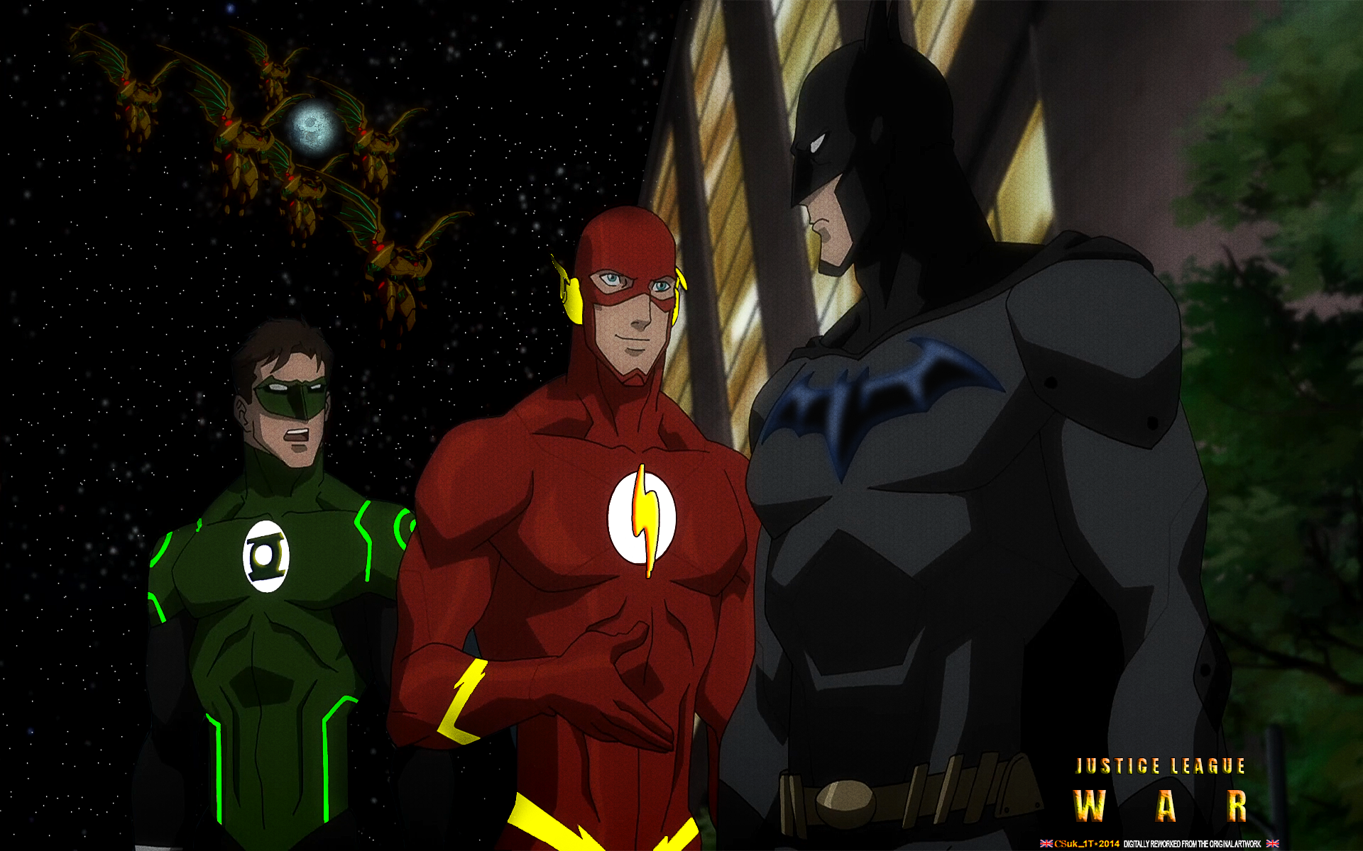 JUSTICE LEAGUE: WAR (3) GREEN L-FLASH-BATMAN by CSuk-1T on ...