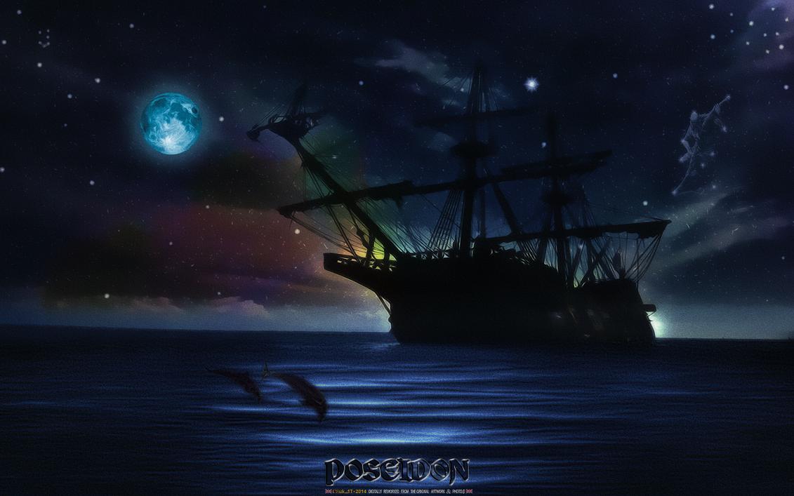 POSEIDON: OCEAN MOONLIGHT by CSuk-1T