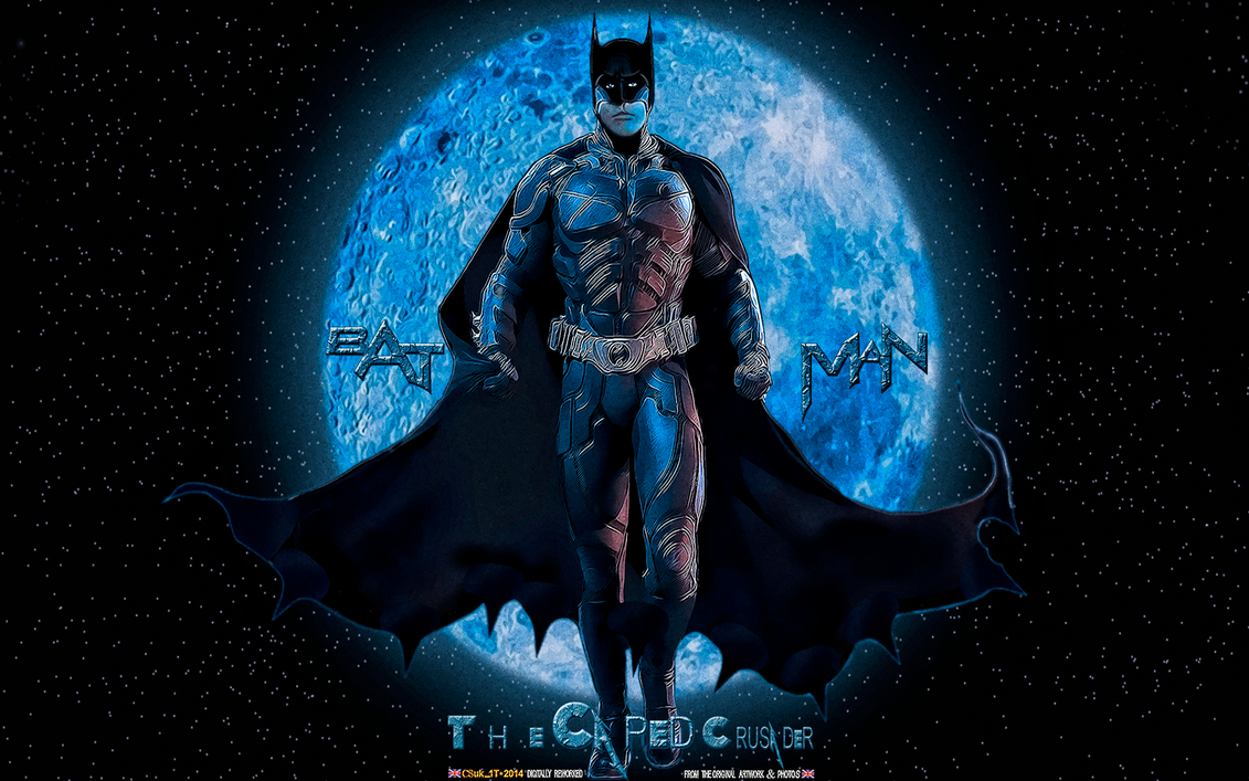 BATMAN: CAPED CRUSADER (2) by CSuk-1T