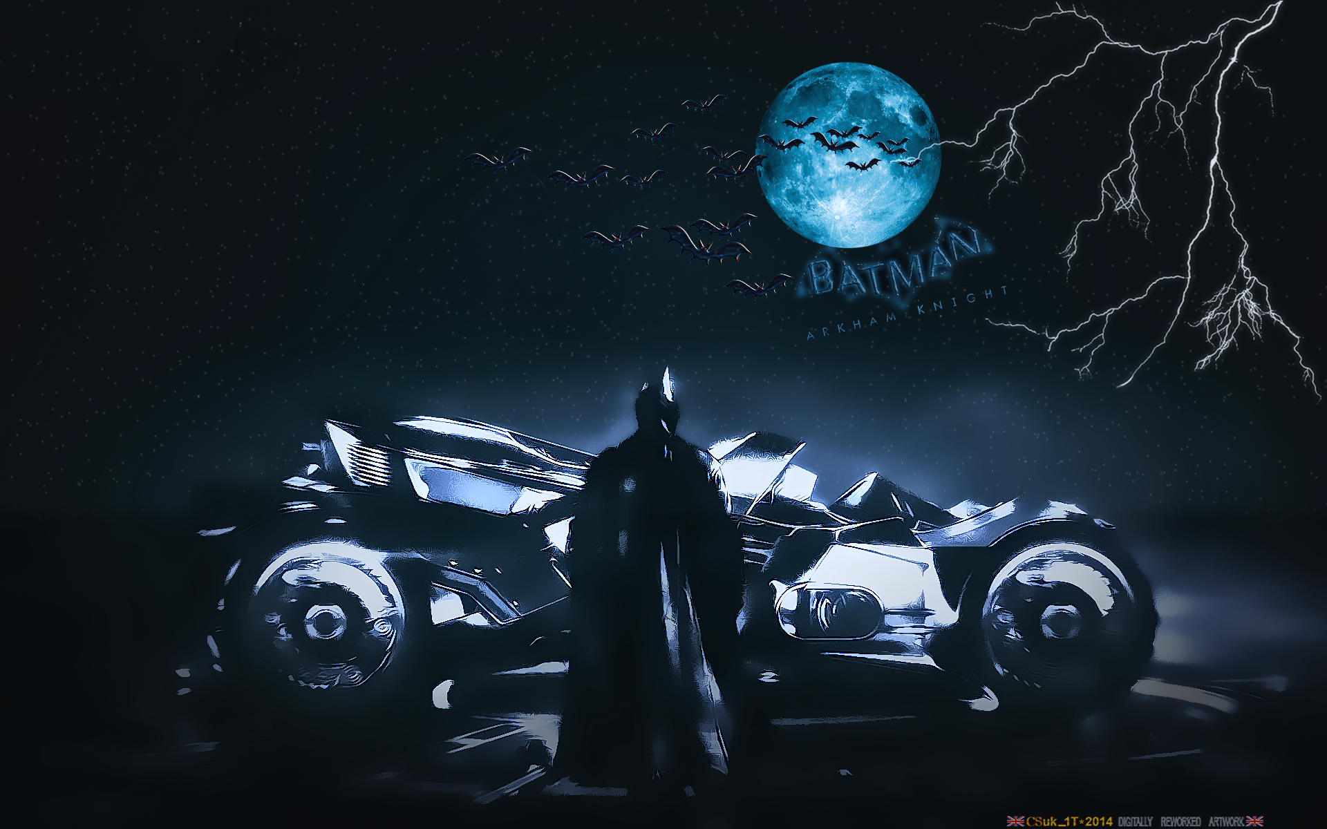 BATMAN: ARKHAM KNIGHT BATMOBILE (2) by CSuk-1T on DeviantArt