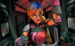 FANART: SABRINE WREN (Star Wars Rebels)