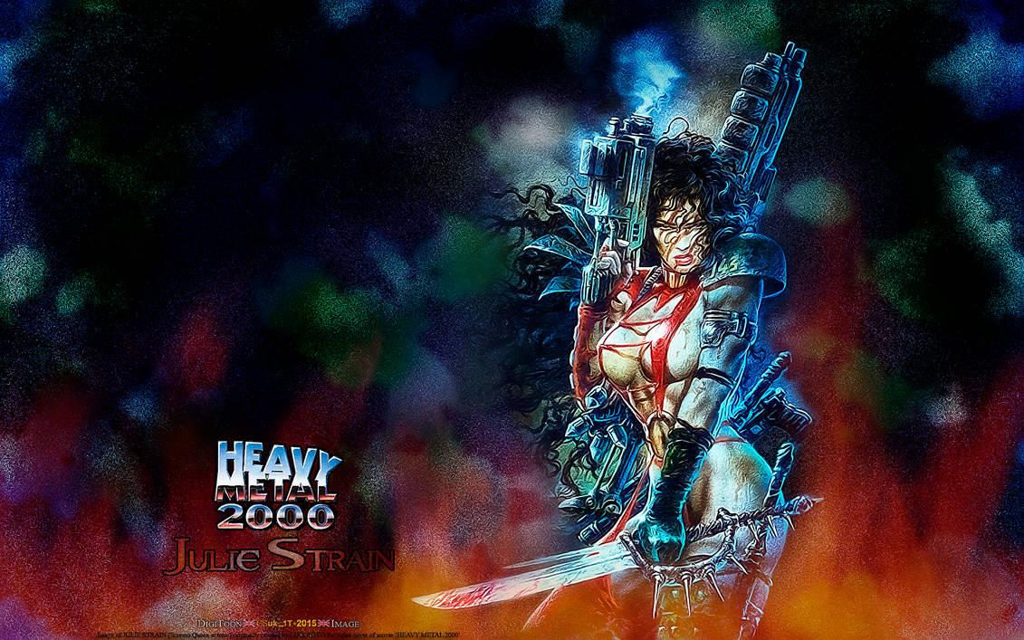 HEAVY METAL 2000: JULIE STRAIN by CSuk-1T
