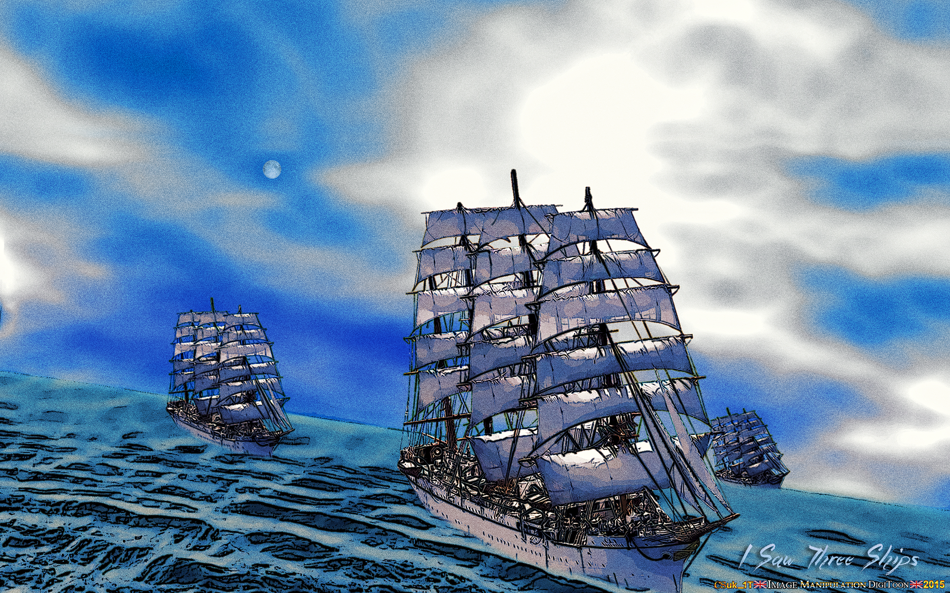 I SAW THREE SHIPS (Come sailing in) by CSuk-1T on DeviantArt
