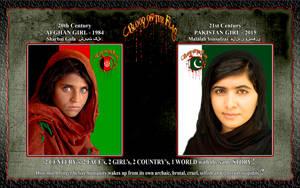 BLOOD on the FLAG: 1 WORLD, 2 GIRLS, SAME STORY