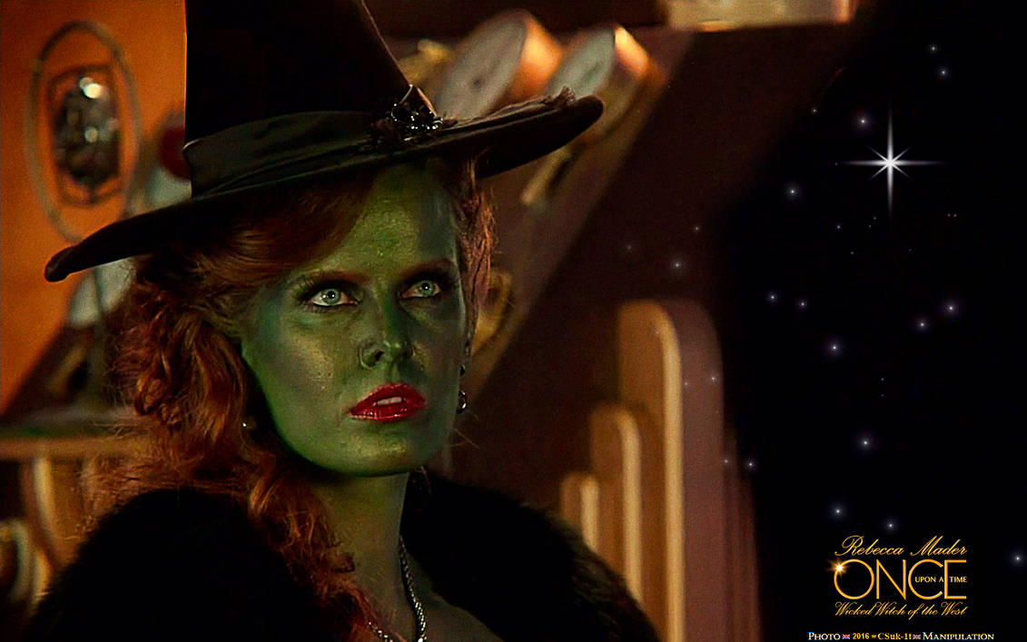 Fanart Rebecca Mader Wicked West Witch By Csuk 1t On Deviantart