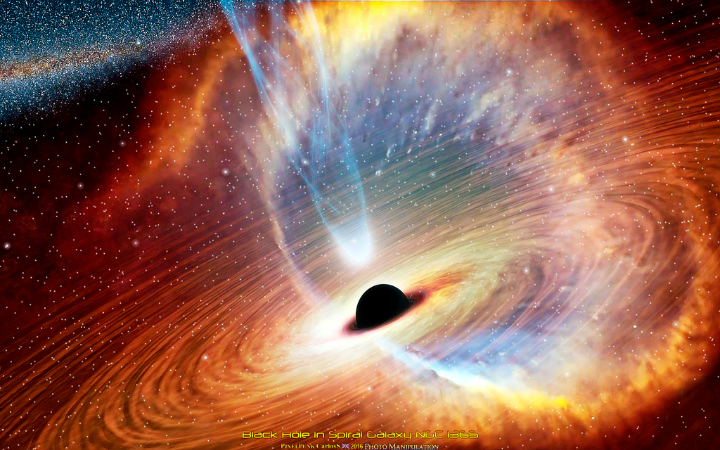 black holes galaxy - photo #39