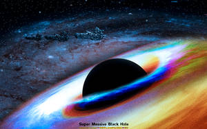 SPACESCAPE: SUPER MASSIVE BLACK HOLE by CSuk-1T