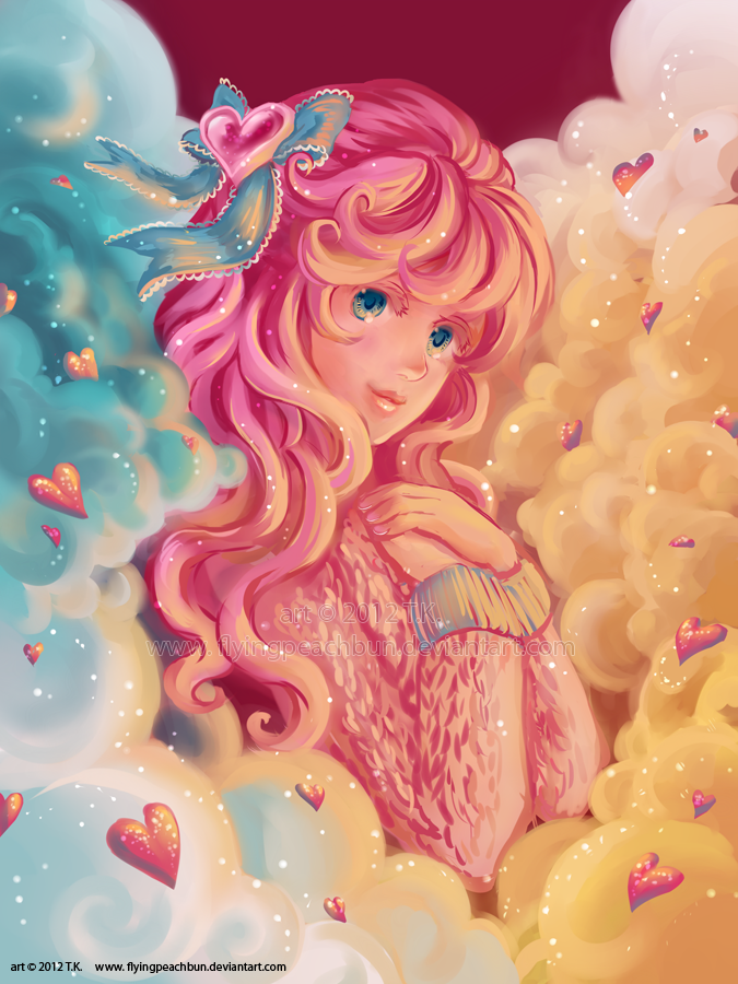 Heart in the Clouds by flyingpeachbun