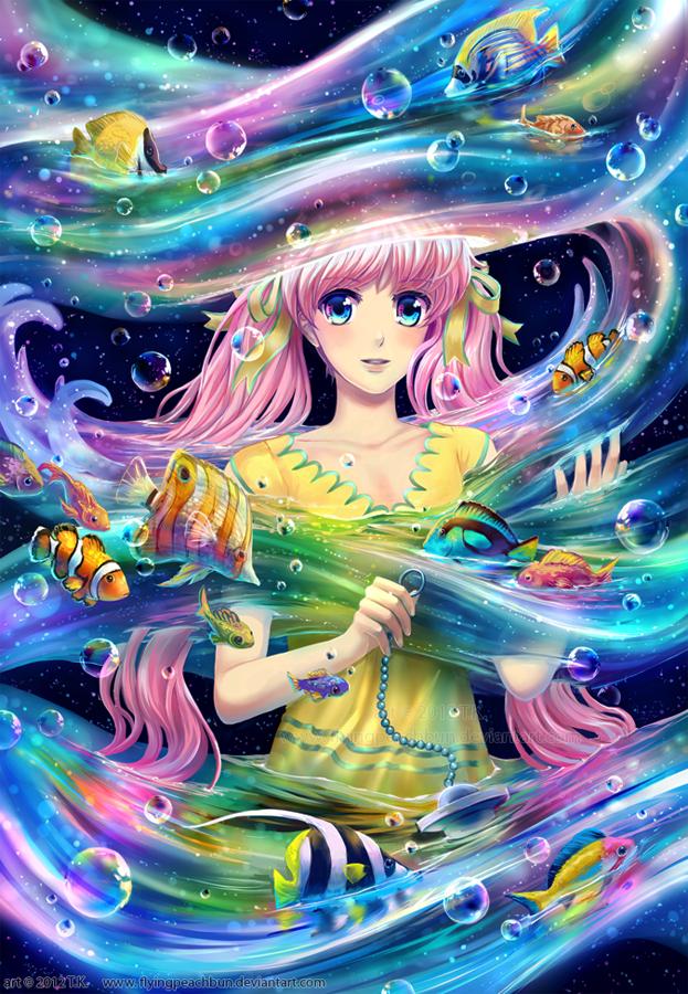 *Cosmic Flow* by flyingpeachbun