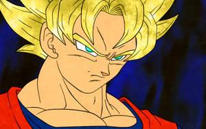 Goku SSJ - Pissed off