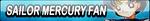 Sailor Mercury Fan Button (Request) by Kyu-Dan