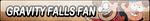 Gravity Falls Fan Button (Request) by Kyu-Dan