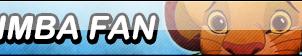 Simba Fan Button (Request) by Kyu-Dan