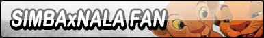 Simba x Nala Fan Button (Request)
