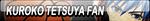 Kuroko Tetsuya Fan Button by Kyu-Dan