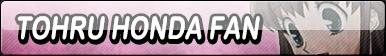Tohru Honda Fan Button