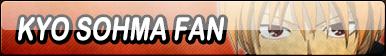 Kyo Sohma Fan Button