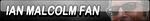 Ian Malcolm Fan Button (Request) by Kyu-Dan