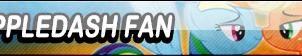 AppleDash Fan Button (Request) by Kyu-Dan