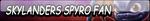 Skylanders Spyro Fan Button (Request) by Kyu-Dan