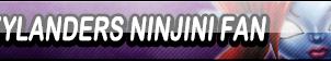 Skylanders Ninjini Fan Button (Request) by Kyu-Dan