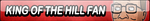 King of the Hill Fan Button (Request) by Kyu-Dan