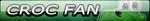 Croc Fan Button (Request) by Kyu-Dan