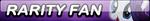 Rarity Fan Button by Kyu-Dan
