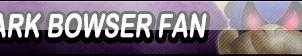 Dark Bowser Fan Button by Kyu-Dan
