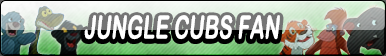 Jungle Cubs Fan Button