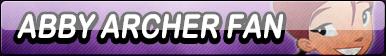 Abby Archer Fan Button