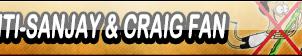 Anti-Sanjay and Craig Fan Button by Kyu-Dan