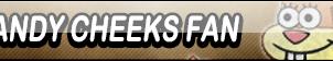 Sandy Cheeks Fan Button by Kyu-Dan