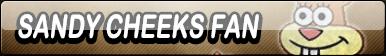 Sandy Cheeks Fan Button