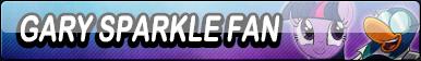 Gary Sparkle Fan Button