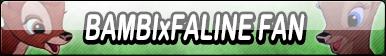 Bambi x Faline Fan Button