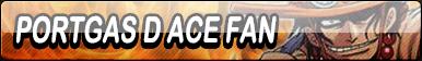 Portgas D Ace Fan Button