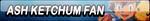 Ash Ketchum Fan Button by Kyu-Dan