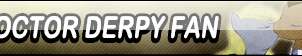 Doctor Derpy Fan Button by Kyu-Dan