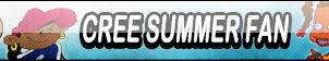 Cree Summers Fan Button by Kyu-Dan