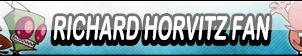 Richard Horvitz Fan Button by Kyu-Dan