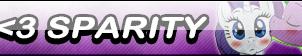 I Love Sparity Button by Kyu-Dan