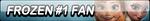 Frozen #1 Fan Button by Kyu-Dan