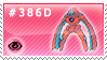 386D - Deoxys (Defence Form) by Kyuubi-DemonFox