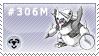 306M - Mega Aggron by Kyu-Dan