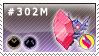 302M - Mega Sableye by Kyu-Dan
