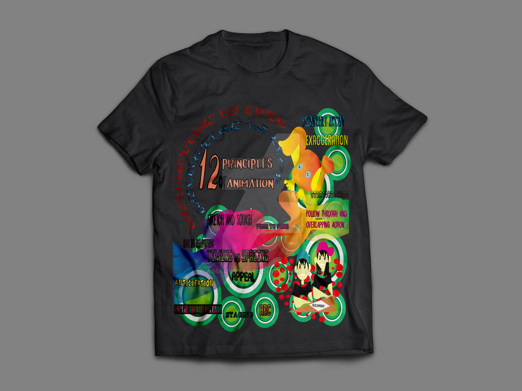 DAYRIT T-Shirt MockUp Front by abbydayrit9