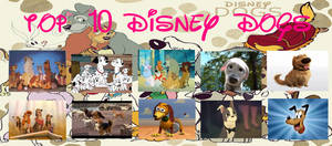 My TOP 10 DISNEY DOGS! by steeleaddict